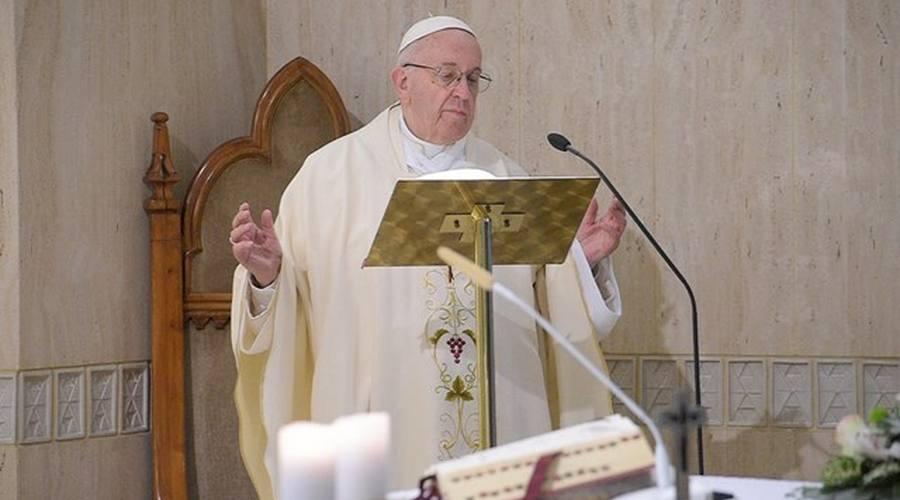 教宗清晨弥撒:分辨好奇心的好坏,向圣神敞开心扉