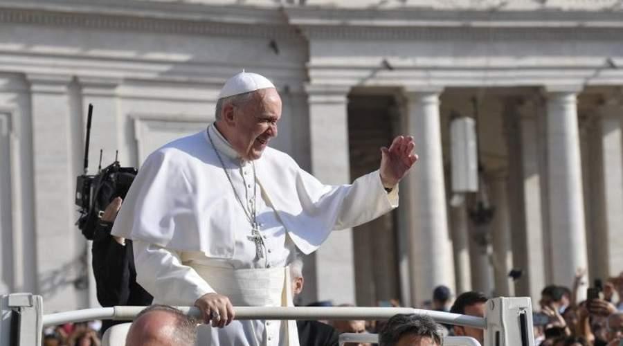 教宗公开接见:唯有天主许可的事物才能持久
