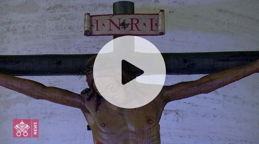 教宗3月27日主持特殊祈祷时刻视频剪影