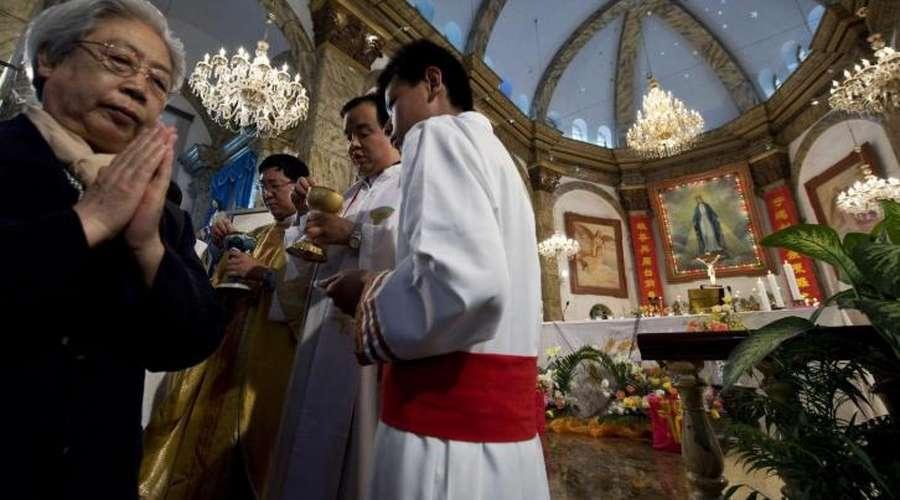 中国城市天主教
