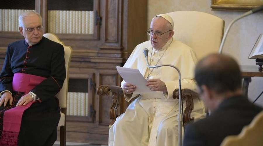 教宗公开接见:承认每个人身上的人性尊严