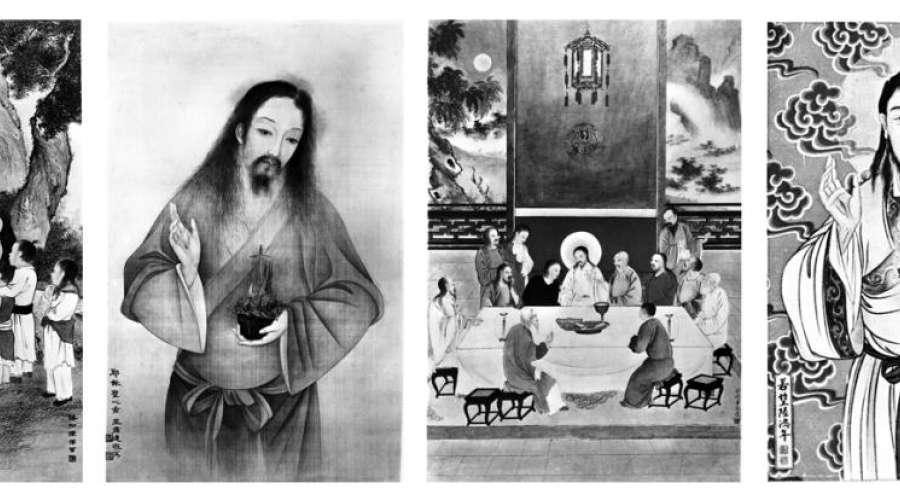 """让耶稣变成""""中国人""""的教会艺术家(上)"""