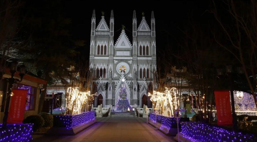 北京教区隆重庆祝2020年圣诞节