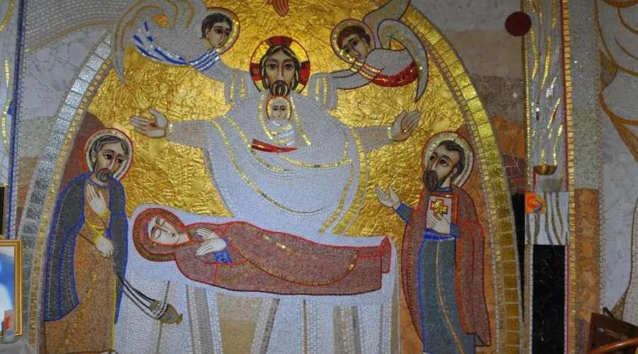 圣母安眠堂马赛克圣像浅析