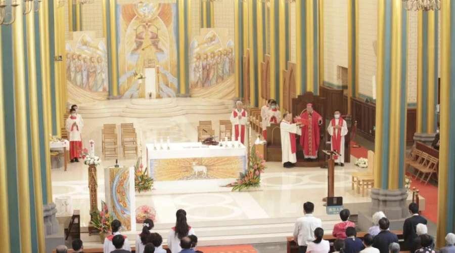 【北堂】李山主教主持圣神降临节感恩圣祭